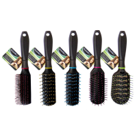 Silky Smooth Hair Brush Asst Colours & Styles