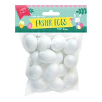 Easter Eggs Poly Foam 15pk