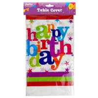 Party Table Cover 1pk