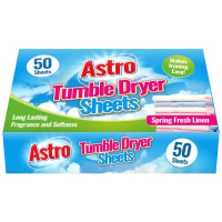 Fresh Linen Fragrance Tumble Dryer Sheets 50p