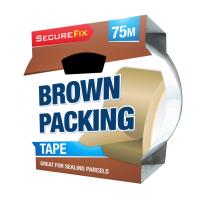 Brown Packaging Tape 75m