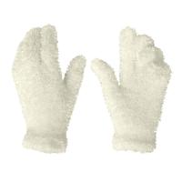 Girls Super Soft Feather Gloves 1 Pair - Crea