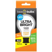 Ultra Bright Warm Light Large Bayonet B22 LED