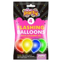 LED Balloons 4pk