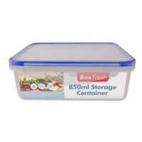 Food Storage 850ml Rectangular Container 1pk