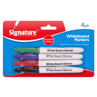 Whiteboard Marker 4pk