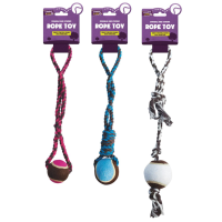 Durable and Strong Rope & Ball Toy