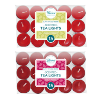 Fragranced Tea Light 15pk, 3.5 hour Apple & C