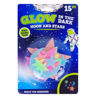Glow In The Dark Moons & Stars