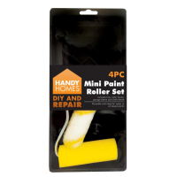 Mini Paint Roller Set 4pk