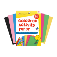 A4 Coloured Activity Pad 60 sheets