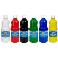 Poster Paint 400ml, Assorted colours