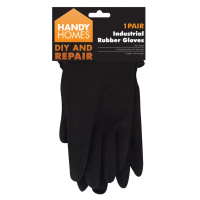 Large Industrial Rubber Gloves 1 Pair
