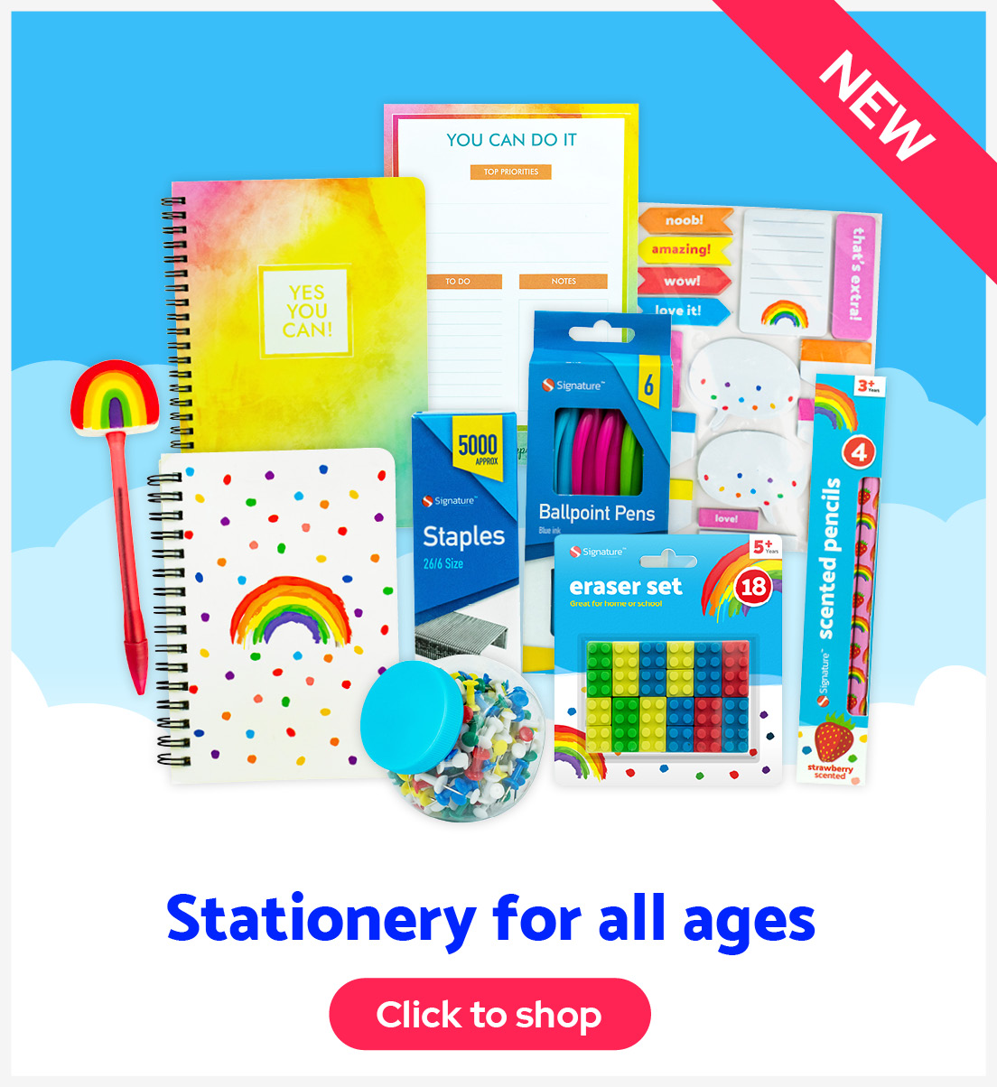 Stationery for all ages